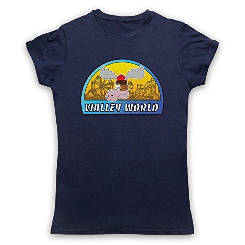 Inspiriert durch National Lampoon's Vacation Walley World Unofficial Damen T-Shirt Ultramarinblau