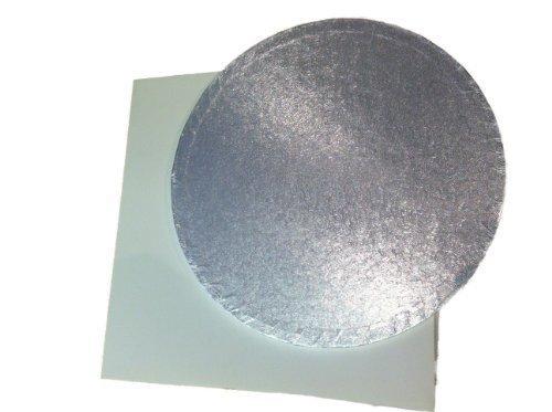 Classikool Boîte à gâteau de 30,5 cm et Support rond en carton de 12 mm d'épaisseur