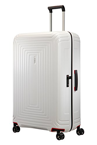 Samsonite Suitcase, 81 cm, 124 Liters, Matte White