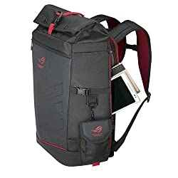 Asus 90xb0310-bbp010 Rog Ranger Backpack Up To 17 Laptops Roll Top Rain Cover Black - (Laptops > Laptop Accessories)