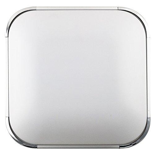 confronta il prezzo online SAILUN 36W Ultra sottile LED Bianco Freddo plafoniera moderno lampada da soffitto per soggiorno, cucina, camera, bagno, hotel – Argento
