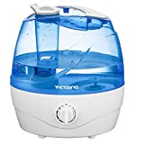 VicTsing Cool Mist Humidifier, 2L Ultrasonic Humidifiers for Bedroom Baby, Premium Humidifying Unit