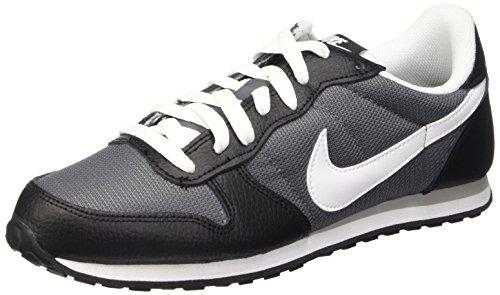 Nike Genicco, Scarpe da Corsa Uomo, Multicolore (Black/White-Dark Grey-Wlf Grey), 44 EU