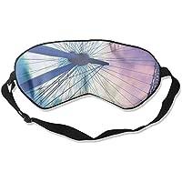 Eye Mask Eyeshade Ferris Wheel Sleeping Mask Blindfold Eyepatch Adjustable Head Strap preisvergleich bei billige-tabletten.eu