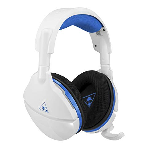 Turtle Beach Stealth 600 Weiß Kabellos Surround Sound Gaming-Headset, PS4 und PS4 Pro