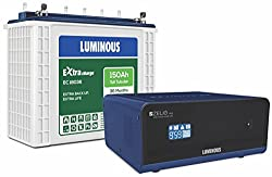 Luminous Zelio1100 Inverter with EC 18036 Battery