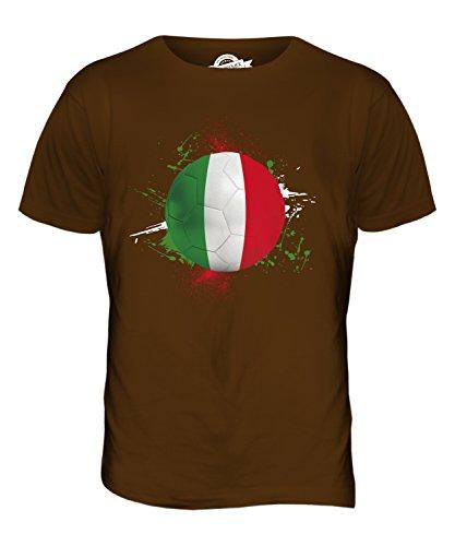 CandyMix Italien Fußball Herren T Shirt Braun