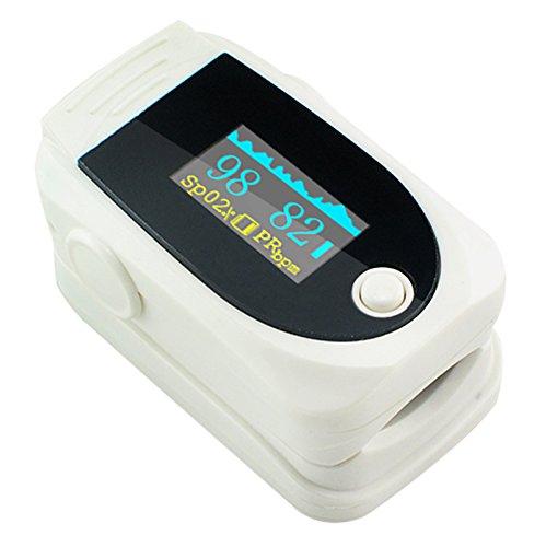 Carejoy New OLED oxímetro de pulso dedo pulsioxímetro portátil Digital oxígeno en la sangre...