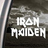 Iron Maiden Decal Metal Rock Band Window Sticker