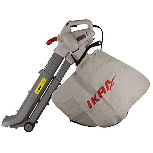 IKRA aspirateur-souffleur-broyeur électrique IBV 2800 E, vitesse de soufflage 275 km/h, 2800W