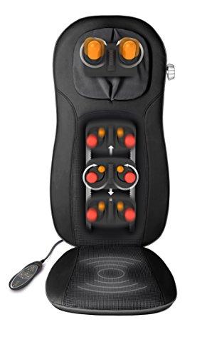 Medisana 88970 MCN PRO Shiatsu-Massagesitzauflage, schwarz