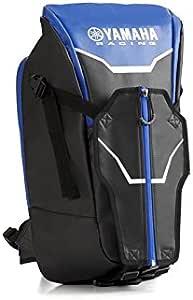 Marsupio versatile in poliestere con logo in gomma tracolla originale Yamaha moto scooter bagagli borse borselli da viaggio enduro cross turismo