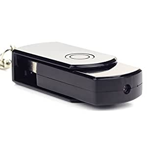 Nanotrix® MiniOS HDversteckte mini Kamera mit Bewegungsmelder – USB Stick Überwachungkamera mit Video und Ton Aufzeichnung auf Micro-SD Speicher –Minikamera Spycam