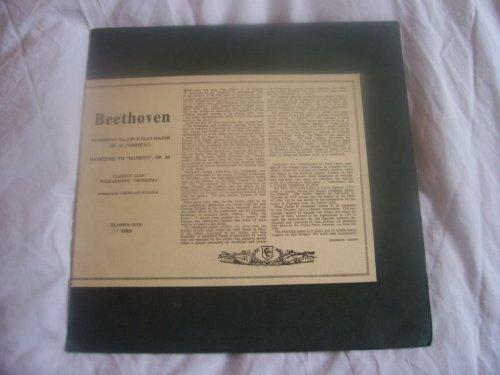X 1026 Beethoven 3/Egmont CCPO Nikolaus Weider LP