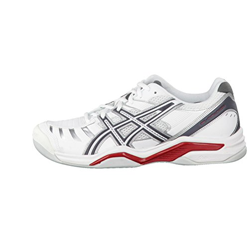 Asics Gel-Challenger 9 Indoor White / Charcoal / R Blanc (White)