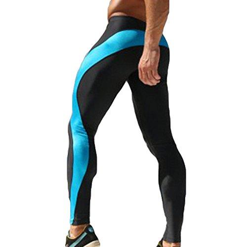 Laufstrumpfhosen Crossfit 3d Kompression Hosen Laufhose Männer Schnell Trocken Elastische Hosen Jogging Sport Leggings Herren Gym Fitness Sportswear Perfekte Verarbeitung Sport & Unterhaltung