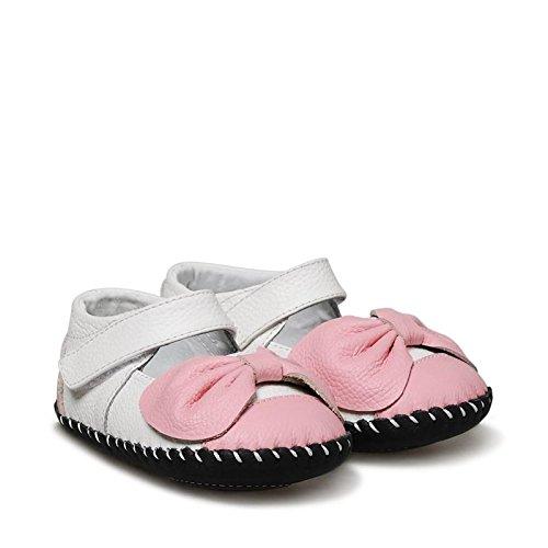 Little Blue Lamb , Chaussures premiers pas pour bébé (fille) rose weiß rosa 12-18 mois weiß rosa
