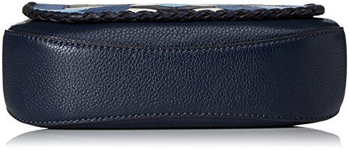 Michael Kors - Medium Saddlebag, Borse a spalla Donna Blu (Admiral)