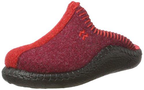 Romika Unisex-Kinder Mokasso 62 Pantoffeln, (Rot-Kombi 401), 32 EU