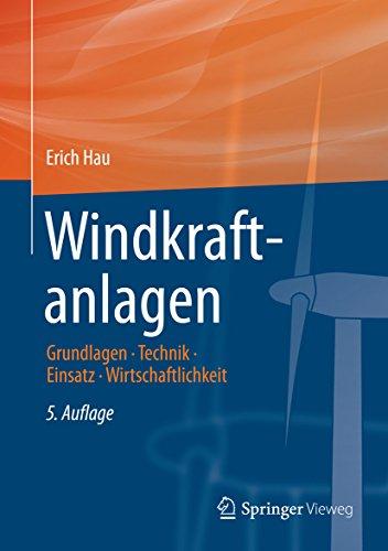 Windkraftanlagen: Grundlagen, Technik, Einsatz, Wirtschaftlichkeit