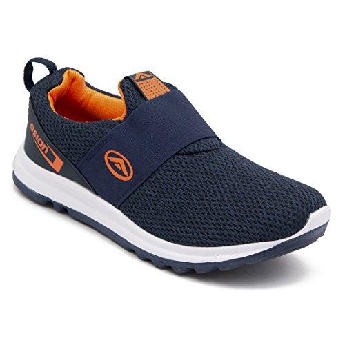 ASIAN Prime-01 Sports Running Shoes for Men (Size: 8 UK, Color: Navy Orange)