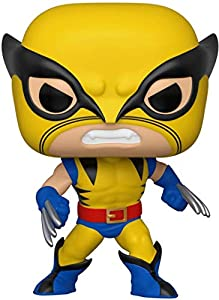 Funko Pop Bobble Marvel: 80th-First Appearance Wolverine Figura Coleccionable, Multicolor (44155)