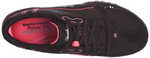 Skechers  Breathe-Easy Just Relax,  Sneaker donna Nero (Schwarz (BKHP))