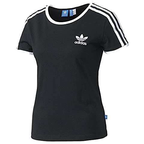 adidas Damen Sandra 1977 T-Shirt, Black, 36