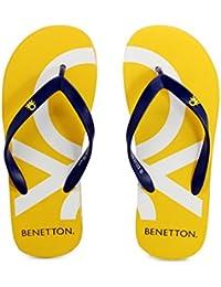 United Colors Benetton Blue FlipFlops For Men