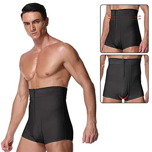 Ning Hombres Body Shaper Cintura Alta Tummy Slimmer