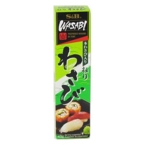 Moutarde / pâte japonaise pour sushis WASABI