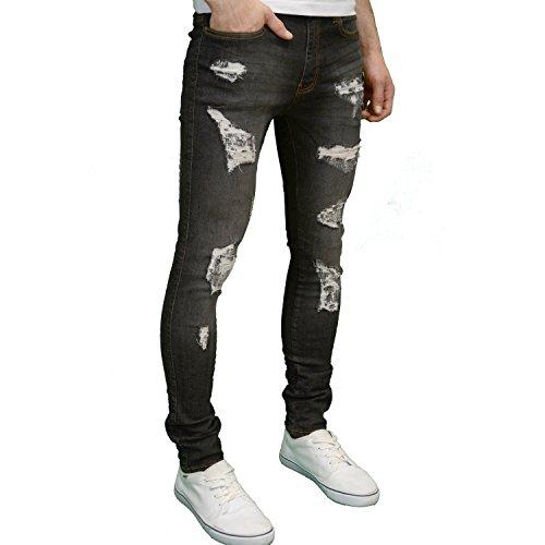 526Jeanswear Herren Jeanshose Blackwash
