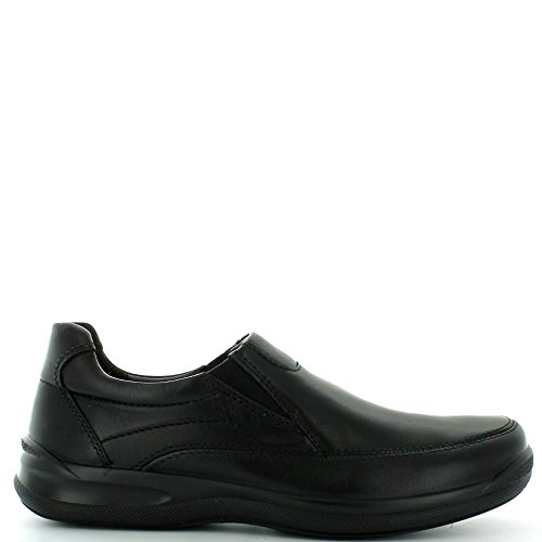 Hotter Hastings, Mocassins Homme Noir