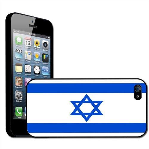israël Drapeau Coque arrière rigide détachable pour Apple iPhone modèles, plastique, noir, iPhone 6