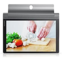 "Lenovo Yoga Tab3 Plus - Tablet de 10,1"" QHD (Procesador Octa Core Qualcomm Snapdragon, RAM de 3 GB, memoria interna de 32 GB, Camara frontal de 13MP, Sistema Operativo Android, WiFi + Bluetooth 4.0) color gris"