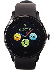 simvalley MOBILE Smart Uhr: Handy-Uhr & Smartwatch für iOS & Android mit Bluetooth & Herzfrequenz (Handy Smartwatches mit Bluetooth Herzfrequenz Messung für Android und iOS)