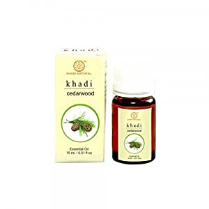Khadi Herbal Cedarwood Essential Oil, 15ml