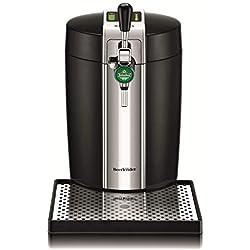 Krups VB700800 Tireuse à Bière Pression BeerTender Noir Machine à bière Pompe Fût 5L