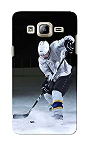 CimaCase Ice Hockey Designer 3D Printed Case Cover For Samsung Galaxy On7 Pro
