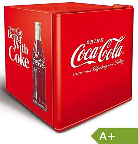 Husky Cubes Coolcube Cocacola 50 Jahre Design Flaschenkühlbox, Farbe:Rot