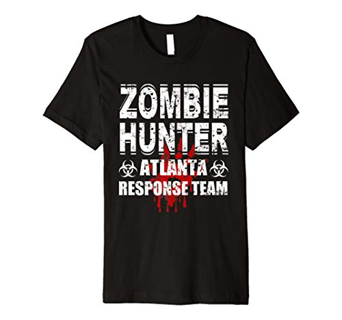 Zombie Hunter T Shirt Atlanta Response -