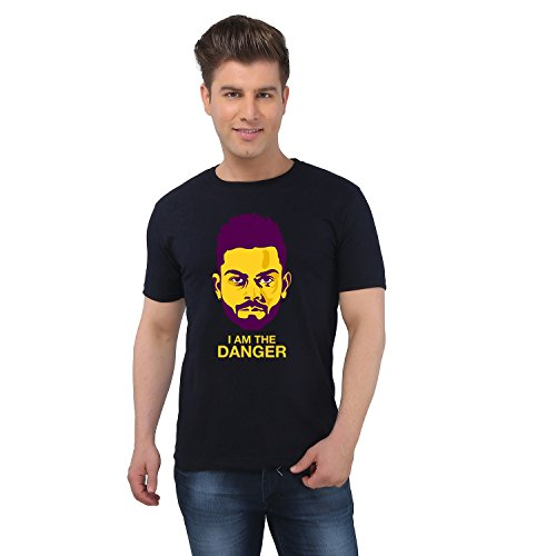 EETEE Cricket Virat Kohli Black T-shirt