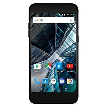 Archos SENSE 55DC Smartphone débloqué 4G (Ecran : 5.5 pouces - 16 Go - Double Micro-SIM - Android) Noir