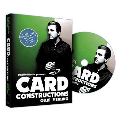 Card Constructions by Ollie Mealing & Big Blind Media- DVD