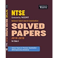 NTSE CLASS 10 SOLVED PAPERS ...Eng Edn.
