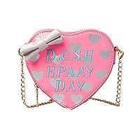hunpta Children Grils Cute Bow Heart-shape Handbag Shoulder Bag Mini Messenger Bag
