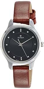 Titan Ladies Neo-Ii Analog Black Dial Women's Watch-NK2481SL07