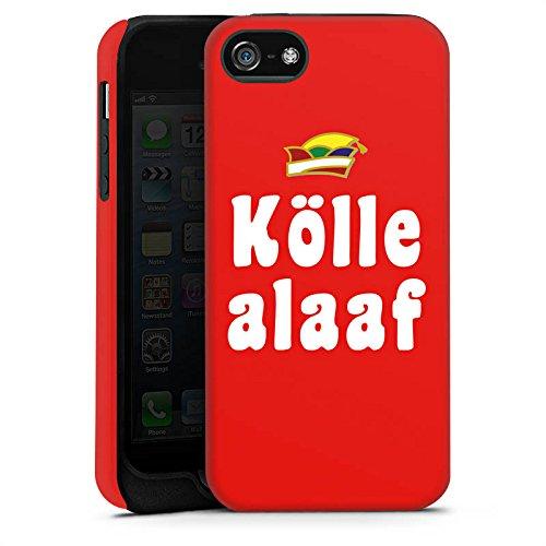 Apple iPhone X Silikon Hülle Case Schutzhülle Köln Karneval Fasching Tough Case matt