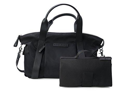 Preisvergleich Produktbild BUGABOO–Tasche Von Nylon Storksak + schwarz, innen blau Öl