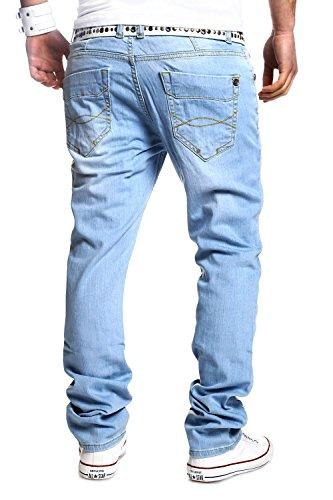 MT Styles Jeans Straight Leg RJ-2024 Hellblau